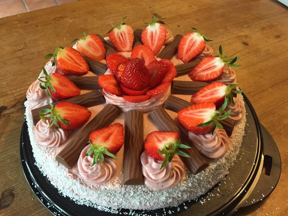 Erdbeer Vanillepudding Torte Rezepte Chefkoch De