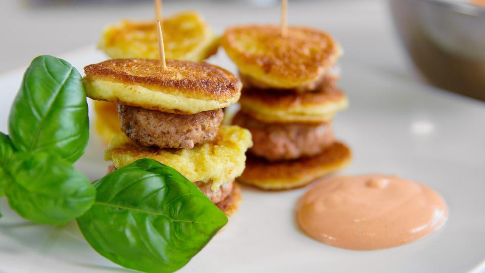 pfannkuchen burger