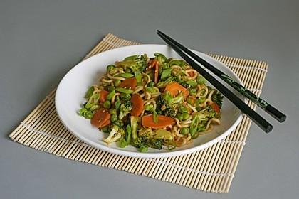 Mie-Nudel-Pfanne mit Gemüse 2