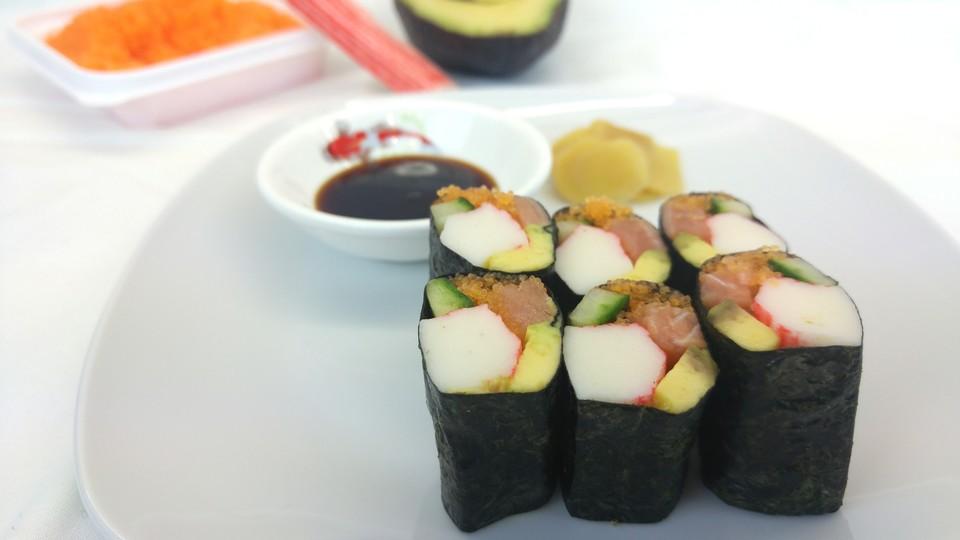 sushi ohne reis von sushi liebhaber. Black Bedroom Furniture Sets. Home Design Ideas