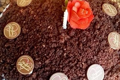 Maulwurfkuchen mit Erdbeeren 11