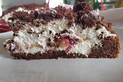 Maulwurfkuchen mit Erdbeeren 13