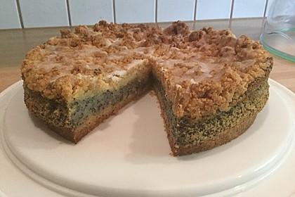 Schneller Mohnkuchen mit Streuseln 7