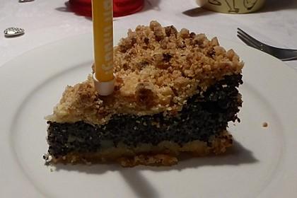 Schneller Mohnkuchen mit Streuseln 8