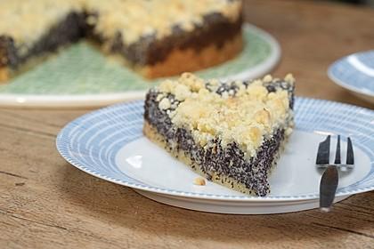 Schneller Mohnkuchen mit Streuseln 1