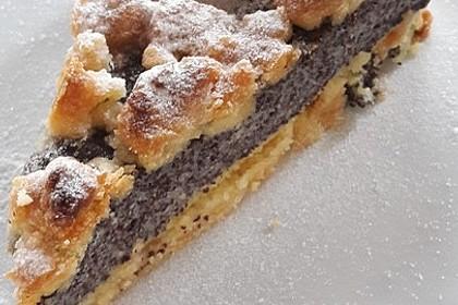 Schneller Mohnkuchen mit Streuseln 4
