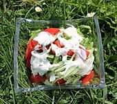 Rettich-Salat mit Joghurtdressing