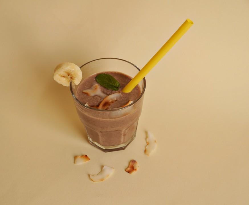 kaffee smoothie mit banane und kokosmilch von ars vivendi. Black Bedroom Furniture Sets. Home Design Ideas