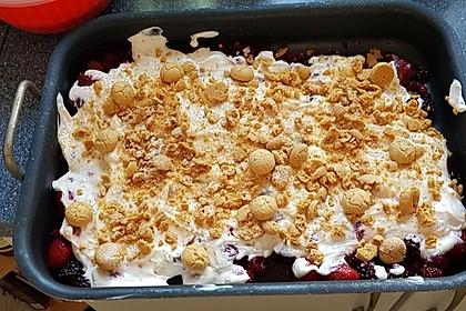Rhabarber Amarettini Traum Dessert 2