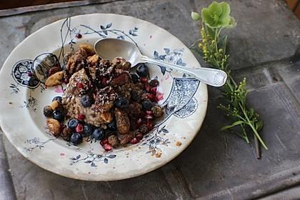 Veganes Buchweizen-Porridge