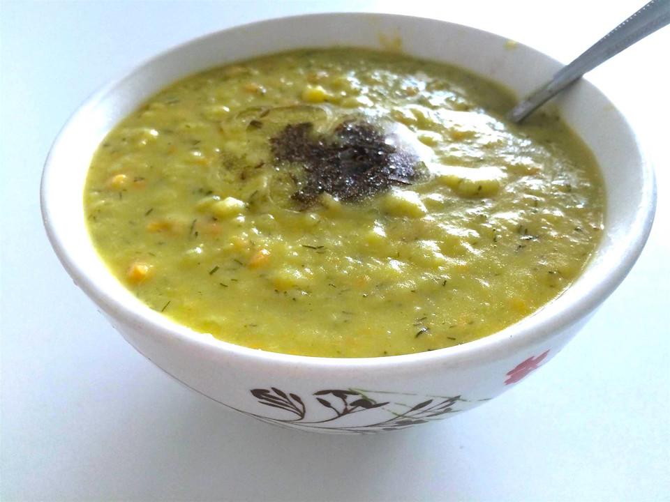 Großmutters ayurvedische Erbsensuppe (vegetarisch) von food-wisdom ...