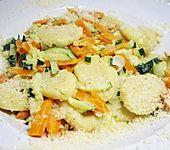 Gnocchi mit Karotten und Zucchini