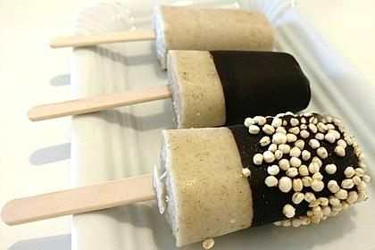 Banane-Vanille-Eis ohne Zucker