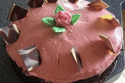 Himbeer-Erdbeer-Torte 3