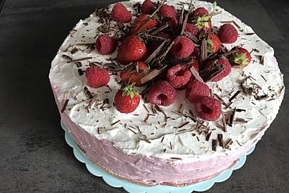 Himbeer-Erdbeer-Torte 4