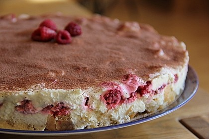 Himbeer-Tiramisu-Torte, No Bake 1