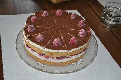 Himbeer-Tiramisu-Torte, No Bake 2