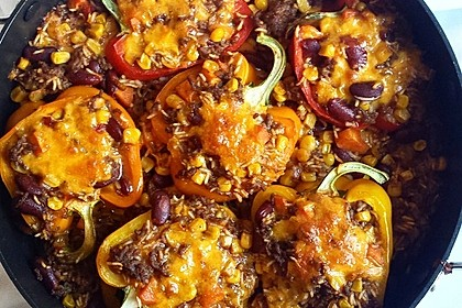 Gefüllte Paprika – Mexican Style 6