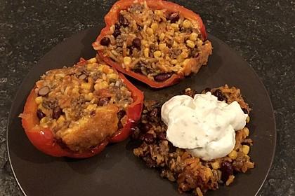 Gefüllte Paprika – Mexican Style