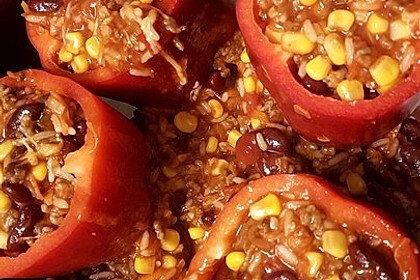Gefüllte Paprika – Mexican Style 15