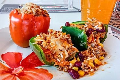 Gefüllte Paprika – Mexican Style 1