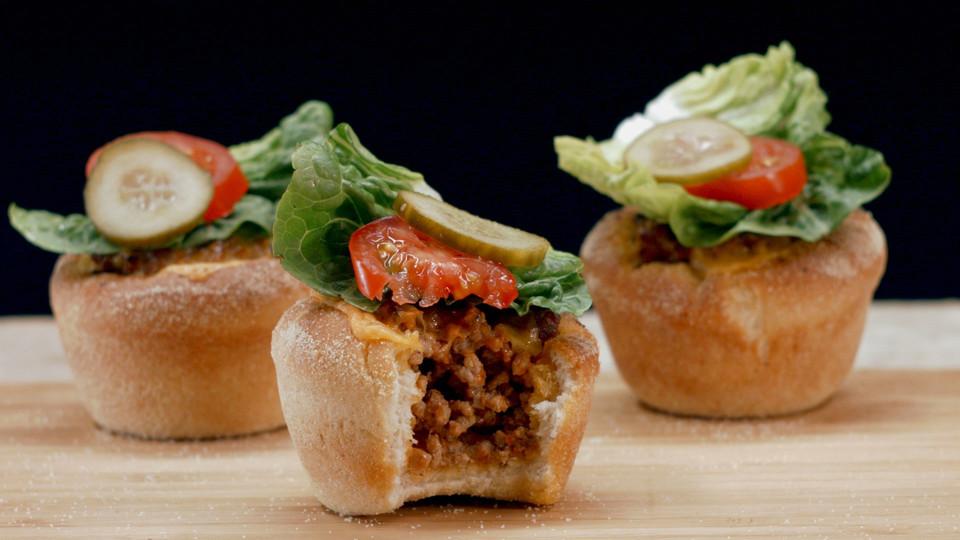 Hamburger Muffins Recipe — Dishmaps