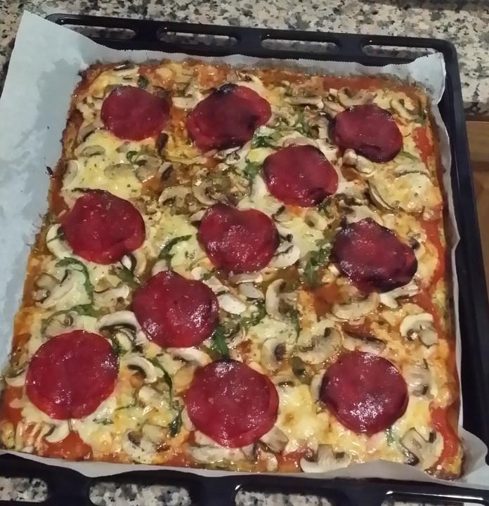 low carb pizzaboden aus zucchini von chefkoch video. Black Bedroom Furniture Sets. Home Design Ideas