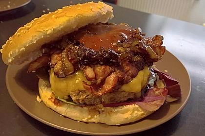 Chefkoch Kirsch-BBQ-Burger 4