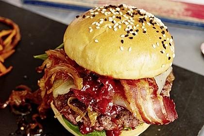 Chefkoch Kirsch-BBQ-Burger 1
