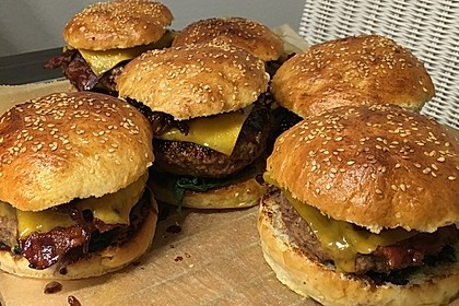 Chefkoch Kirsch-BBQ-Burger 3