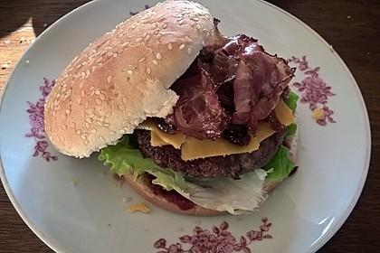 Chefkoch Kirsch-BBQ-Burger 5