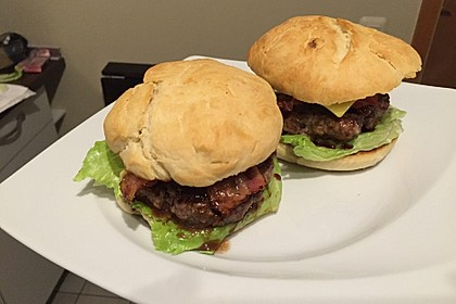 Chefkoch Kirsch-BBQ-Burger 6
