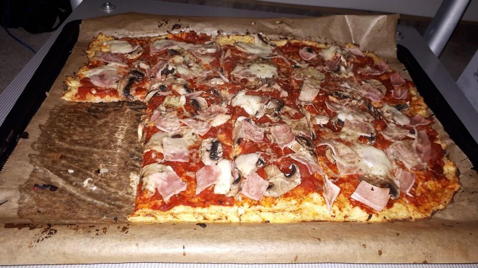 schnelle low carb pizza von celinnnn. Black Bedroom Furniture Sets. Home Design Ideas