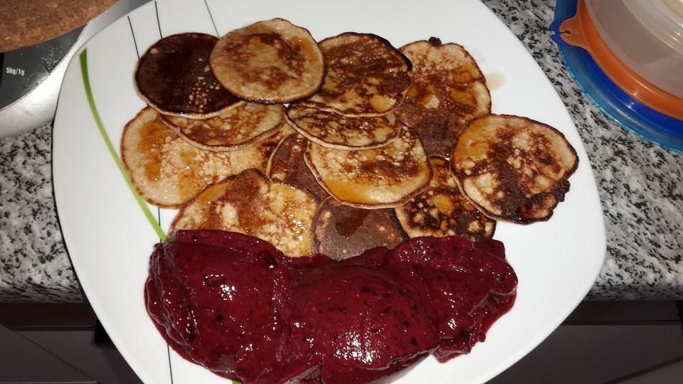 flaumige protein pancakes rezept mit bild von adsartha13. Black Bedroom Furniture Sets. Home Design Ideas
