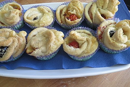 muffins mit rosen rezepte suchen. Black Bedroom Furniture Sets. Home Design Ideas