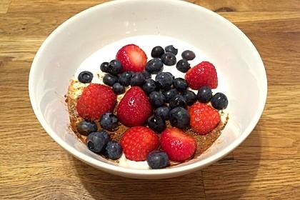 Erdbeer-Heidelbeer-Joghurt