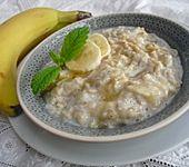 Honig-Bananen-Porridge