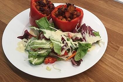 Gefüllte Paprika mit Hähnchen 16