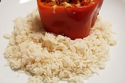 Gefüllte Paprika mit Hähnchen 10