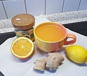 Ingwer-Orangentee, Erkältungstee