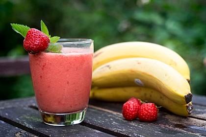 Erdbeer-Bananen-Smoothie 1