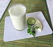 Gurken-Honigmelonen-Lassi