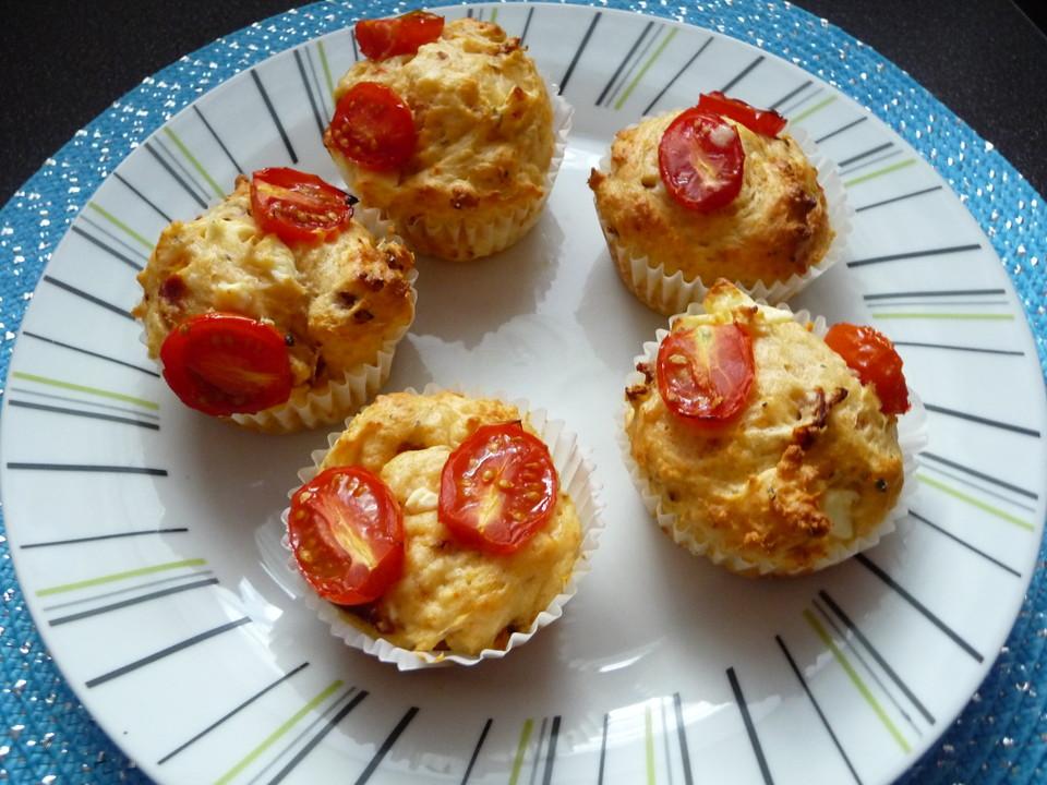 tomaten feta muffins rezept mit bild von wildepixel. Black Bedroom Furniture Sets. Home Design Ideas