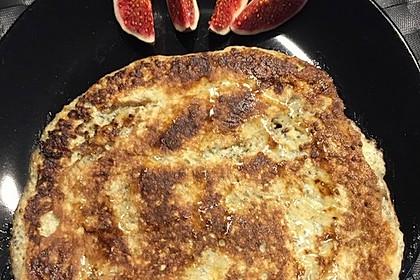 bananen chia pancakes ohne mehl und zucker rezept mit bild. Black Bedroom Furniture Sets. Home Design Ideas