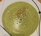 Zucchini-Curry-Suppe (Bild)