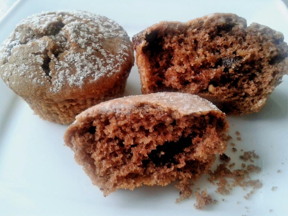 nuss nougat creme muffins mit schokotropfen rezept mit bild. Black Bedroom Furniture Sets. Home Design Ideas