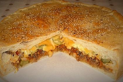 Cheeseburger-Kuchen