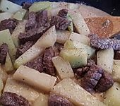 Kohlrabi-Steak-Pfanne