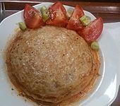 Italienisch gefüllte Pfannkuchen
