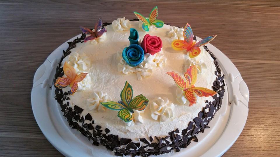 Sahne Nougat Torte Von Cherrylein Chefkoch De